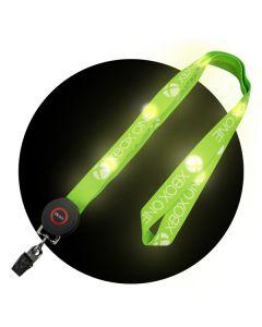 LED Polyester Lanyard