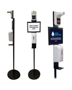 Hand Sanitiser Safety Kiosk