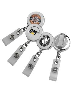 Round Chrome ID Pullers