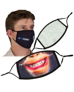 Two Layer Printed Face Masks