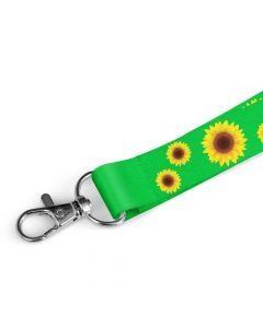 Sunflower Print Lanyards