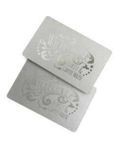 Metallic Plastic Cards