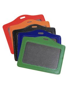 90 x 60mm Landscape PU Leather Holders
