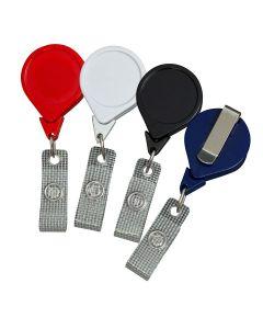No-Twist Plastic Retractable Badge Reels