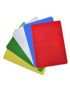0.76mm (CR80) Plain Colour Plastic Cards