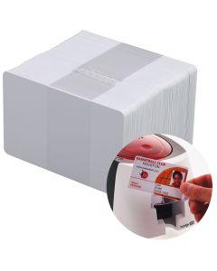 CR80 Plain White Plastic Cards 0.76mm