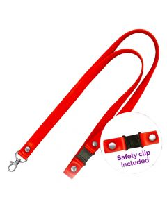 15mm Silicone Lanyards