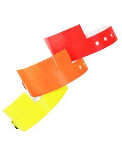 Tabbed Vinyl Wristbands