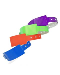 Wide Face Vinyl Wristbands