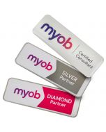Custom Plastic Name Badges