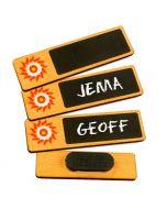 Chalkboard Name Badges